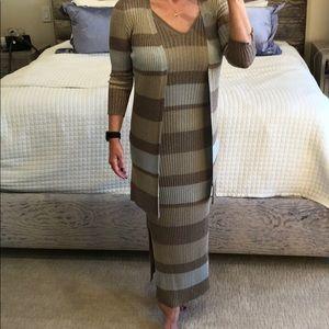 Zara sweater dress and sweater set